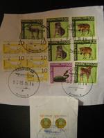Отдается в дар Почтовые марки Казахстана