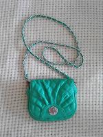 Отдается в дар Маленькая зелёная сумочка