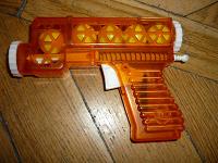Отдается в дар игрушечный пистолетик с шариками