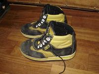 Отдается в дар Дарю ботинки для мальчика на осень-весну размер 28