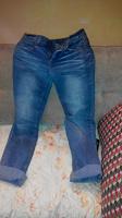 Отдается в дар светло-синии джинсы