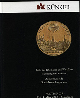 Отдается в дар Три каталога аукционного дома Künker