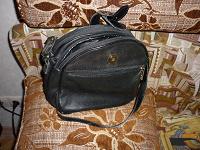 Отдается в дар кож. итальянская сумочка с длинной ручкой