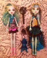 Отдается в дар Куклы «Monster High» и фея с крылышками