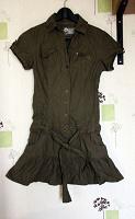Отдается в дар платье милитари