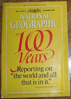 Отдается в дар Журнал National Geographic