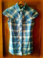 Отдается в дар Клетчатая рубашка OGGI (40 размер)