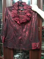 Отдается в дар Очень оригинальная блузка.