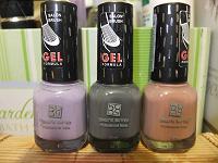 Отдается в дар Три лака из коллекции Brigitte Bottier Professional Nails Gel