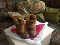 Отдается в дар Зимние ботиночки 39,5