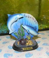 Отдается в дар Статуэтка «Дельфинчики»