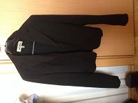 Отдается в дар Черный пиджак 42 рр