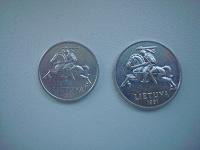 Отдается в дар Монеты Литвы.