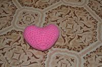 Отдается в дар сердечко вязаное
