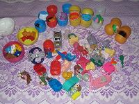 Отдается в дар Киндеры, запчасти и мелкие игрушки