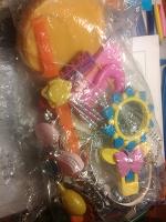 Отдается в дар Пакетик игрушек для девочки