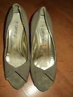 Отдается в дар туфли 36р тканевые