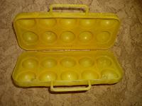 Отдается в дар Коробочка пластмассовая для 10 яиц