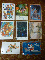 Отдается в дар Новогодние открытки.