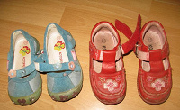 Отдается в дар Летняя обувь для девочек