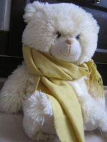 Отдается в дар Желтый шарф