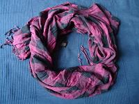 Отдается в дар Длинный шейный платок в клетку