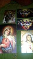 Отдается в дар Христианские иконы голограмы 3д