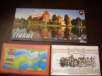 Отдается в дар Брошюра и билет из Литвы