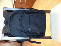Отдается в дар Черный рюкзачок