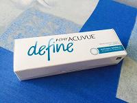 Отдается в дар Однодневные оттеночные контактные линзы Acuvue Define