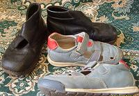 Отдается в дар ботинки\сандалеты