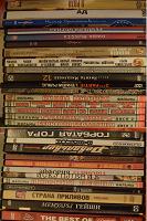 Отдается в дар Много разных dvd дисков: лицензионные, сборники, концерты (110 шт.)