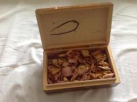 Отдается в дар деревянная шкатулка