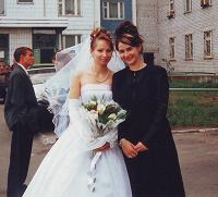Отдается в дар Платье свадебное, фата, перчатки