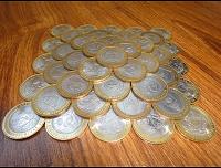 Отдается в дар И опять монеты в дар-биметалл)
