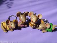 Отдается в дар Мышки-брелочки