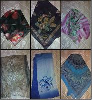 Отдается в дар Платки и шарфики женские
