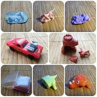 Отдается в дар Мелочи — киндеры, запчасти и др.игрушки