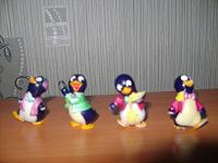 Отдается в дар пингвинчики