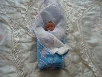 Отдается в дар одеяло для куклы.