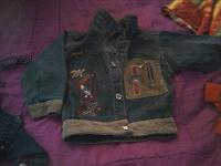 Отдается в дар джинсовки на мальчика