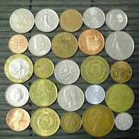 Отдается в дар Монеты --> (Ну… отметим юбилей монетками…)
