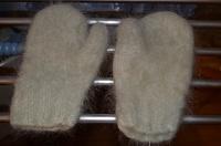 Отдается в дар Варежки из натуральной шерсти