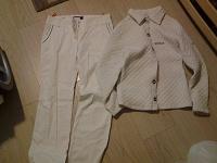 Отдается в дар Брюки и куртка белые