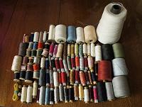 Отдается в дар Нитки для шитья