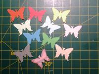 Отдается в дар Бабочки из бумаги