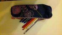 Отдается в дар пенал с новыми ручками и карандашами