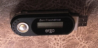 Отдается в дар mp3 плеер не рабочий Zen FlashDrive Ergo
