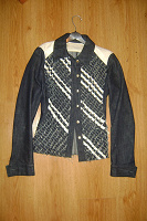 Отдается в дар Джинсовая куртка Ice berg 42-44 размер