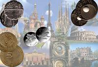 Отдается в дар Юбилейные монеты Европы